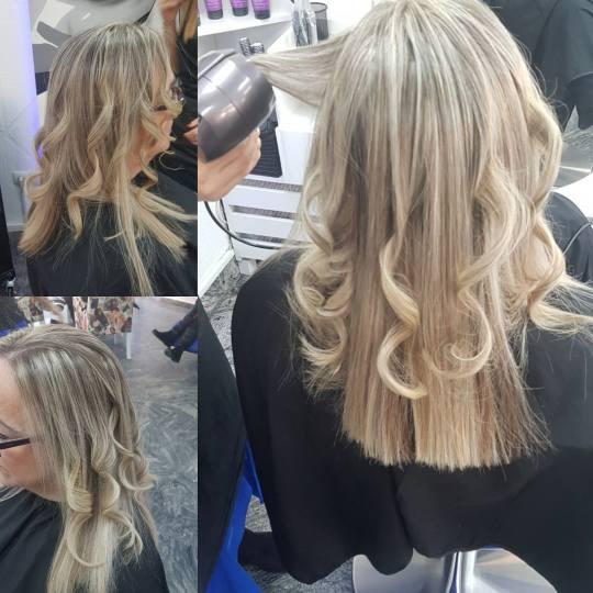 Fresh #sarajevo Feniranje i stilizovanje Feniranje na lokne - duga kosa Friziranje